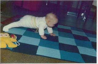 Babydecke 1975