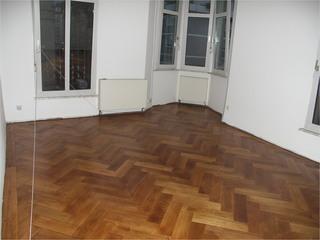 Wohnzimmer mit Holz