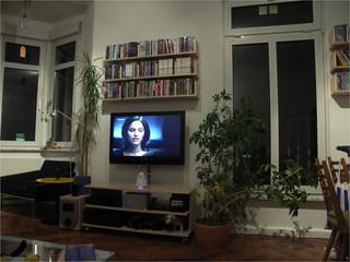 Wohnzimmerwand