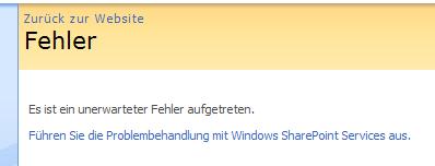 SharePoint Grrrr!