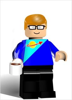 Ich wollte immer zu den LEGO-Raumschifftruppen