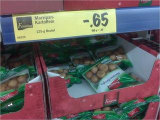 Marzipankartoffeln -,65