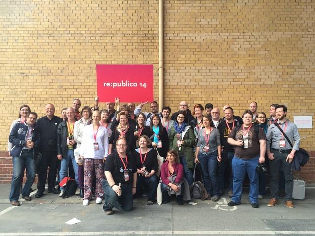 Gruppenbild der Iron Blogger