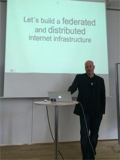 Frank Karlitschek spricht über ownCloud.