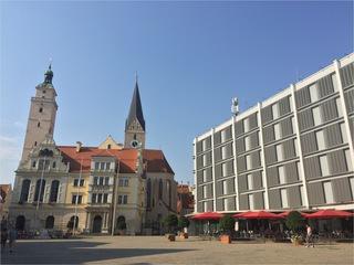 Ingolstadt: altes Rathaus, neues Rathaus