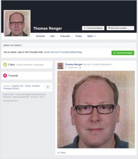 der gefälschte Thomas Renger