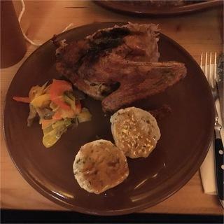 Ente, Gemüse und Semmelknödel